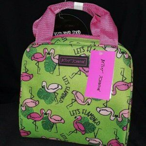 Betsey Johnson FLAMINGO LUNCH TOTE